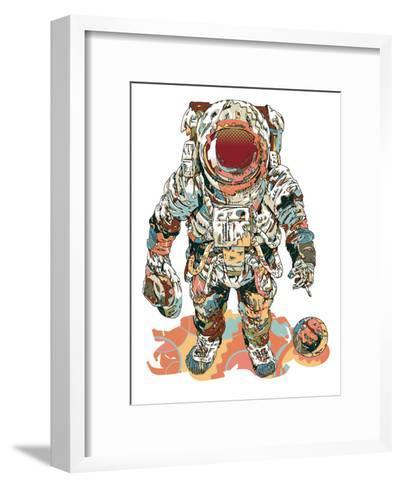 Fly Me To The Moon-HR-FM-Framed Art Print