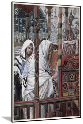 Jesus Teaching in the Synagogue, Illustration for 'The Life of Christ', C.1886-94-James Tissot-Mounted Giclee Print