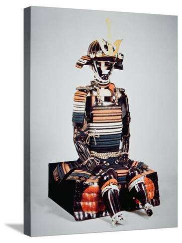 Samurai of Old Japan: Suit of Armour Worn by Toyotomi Hideyoshi, Momoyama Period, 1568-1600-Japanese School-Stretched Canvas Print