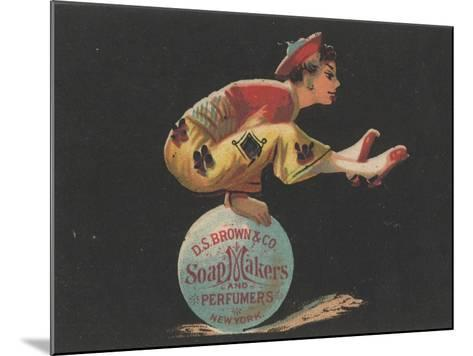 Advertisement for D. S. Brown and Co. Soap Makers and Perfumers, New York, C.1880-American School-Mounted Giclee Print