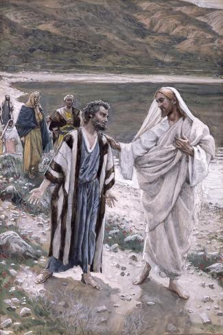 Feed My Lambs, Illustration for 'The Life of Christ', C.1884-96-James Tissot-Stretched Canvas Print