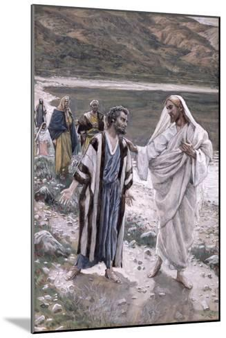 Feed My Lambs, Illustration for 'The Life of Christ', C.1884-96-James Tissot-Mounted Giclee Print