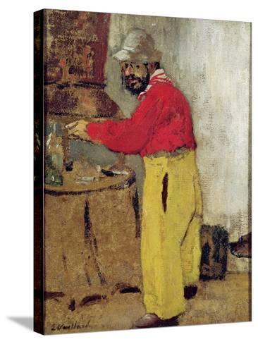 Henri De Toulouse-Lautrec at Villeneuve Sur Yonne, 1898-Edouard Vuillard-Stretched Canvas Print