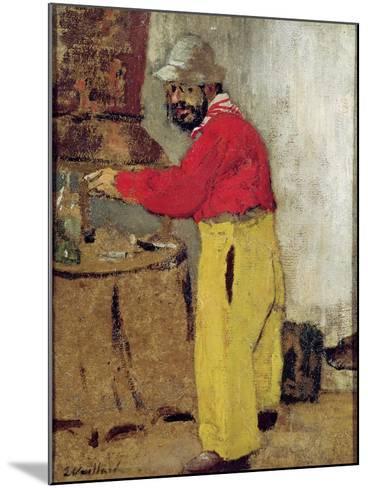 Henri De Toulouse-Lautrec at Villeneuve Sur Yonne, 1898-Edouard Vuillard-Mounted Giclee Print