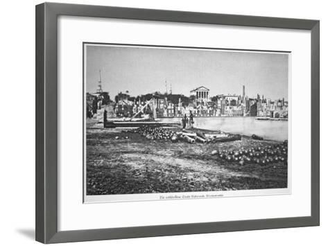 The Ruined City of Richmond, Virginia, at the War's End-American Photographer-Framed Art Print