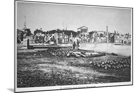 The Ruined City of Richmond, Virginia, at the War's End-American Photographer-Mounted Giclee Print