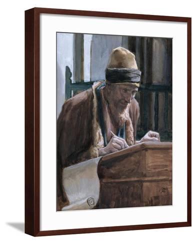 Saint Mark, Illustration for 'The Life of Christ', C.1886-94-James Tissot-Framed Art Print