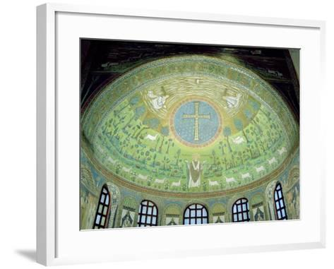 The Cupola with a Mosaic Depicting St. Apollinare--Framed Art Print