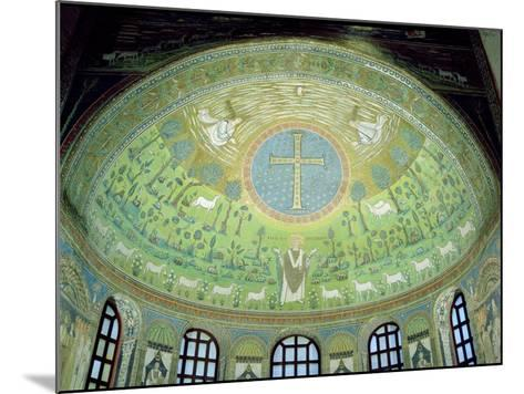 The Cupola with a Mosaic Depicting St. Apollinare--Mounted Giclee Print