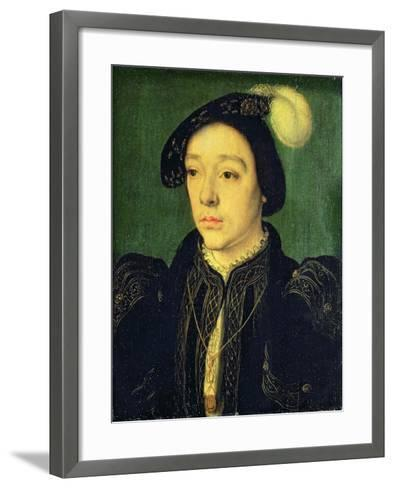 Portrait of Charles, Duke of Angouleme, C.1536-Claude Corneille de Lyon-Framed Art Print