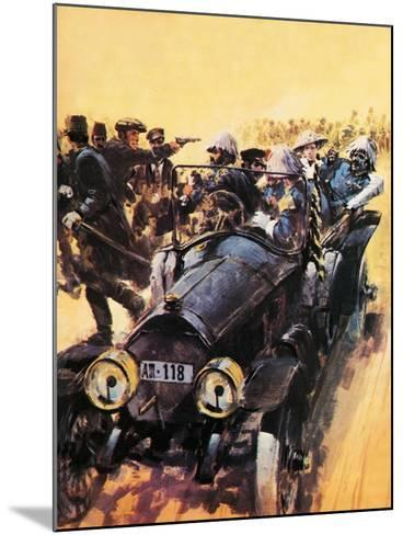 The Assassination of Archduke Franz Ferdinand.-Graham Coton-Mounted Giclee Print