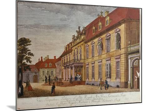 The Palace of Prince Ferdinand of Prussia, Berlin-Johann Carl Wilhelm Rosenberg-Mounted Giclee Print