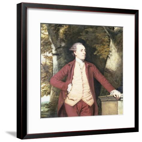 Portrait of Richard Crofts of West Harling, Norfolk-Sir Joshua Reynolds-Framed Art Print