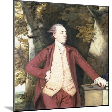 Portrait of Richard Crofts of West Harling, Norfolk-Sir Joshua Reynolds-Mounted Giclee Print