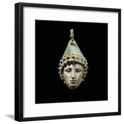 The Crosby Garrett Helmet, Late 1st-2nd Century Ad-Roman-Framed Art Print