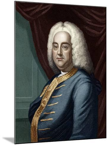 George Frederic Handel, Engraved by Thomson-English School-Mounted Giclee Print