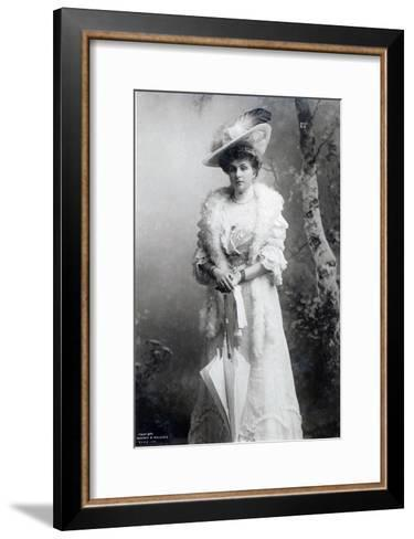 Queen of Spain, Ena of Battenberg, C.1910--Framed Art Print