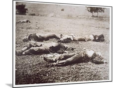 Dead on the Field of Gettysburg, July 1863-American Photographer-Mounted Giclee Print