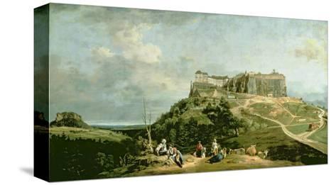 The Fortress of Konigstein, 18th Century-Bernardo Bellotto-Stretched Canvas Print