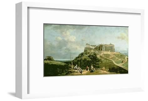 The Fortress of Konigstein, 18th Century-Bernardo Bellotto-Framed Art Print