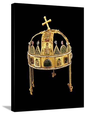The Holy Crown of Hungary, 11th-12th Century-Byzantine-Stretched Canvas Print