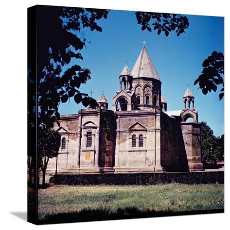 Exterior of Etchmiadzin Cathedral--Stretched Canvas Print