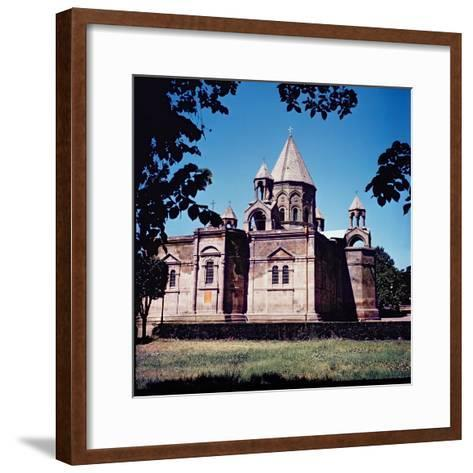 Exterior of Etchmiadzin Cathedral--Framed Art Print
