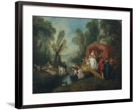 Departure for the Island of Cythera-Jean-Baptiste Pater-Framed Art Print