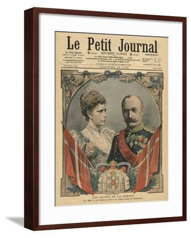 Guests of France, King Frederick Viii-French School-Framed Art Print