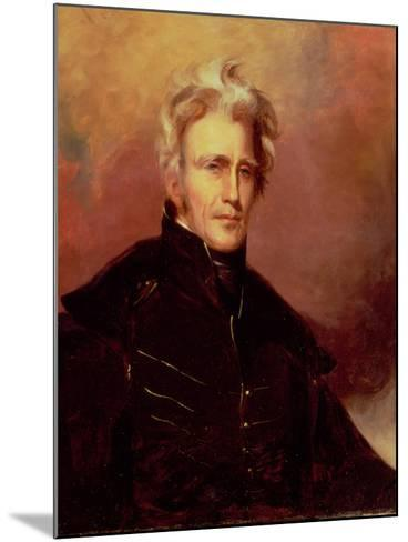 Portrait of Andrew Jackson, 1858-Thomas Sully-Mounted Giclee Print
