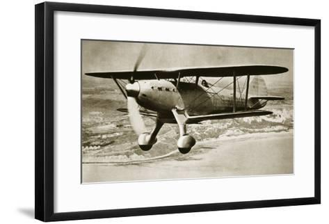 One-Man Destroyer of the Air, C.1935-English Photographer-Framed Art Print