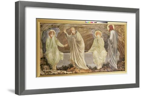 The Morning of the Resurrection, 1882-Edward Burne-Jones-Framed Art Print