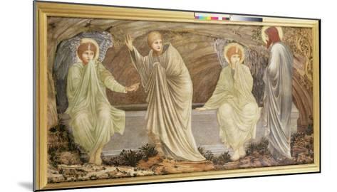 The Morning of the Resurrection, 1882-Edward Burne-Jones-Mounted Giclee Print