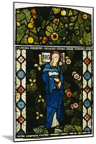 The Blessed Virgin Mary, Morris and Co.-Edward Burne-Jones-Mounted Giclee Print