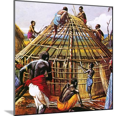 Proud Giants of Africa: the Batushi-English School-Mounted Giclee Print