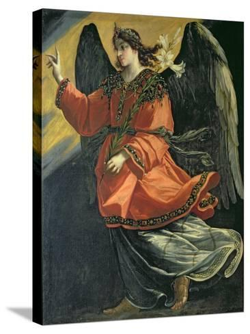 Archangel Gabriel of the Annunciation-Lucrina Fetti-Stretched Canvas Print