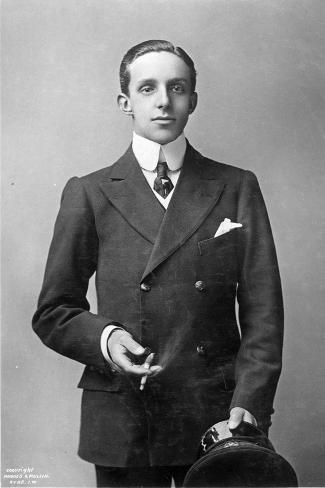 King Alfonso Xiii of Spain, C.1910--Stretched Canvas Print