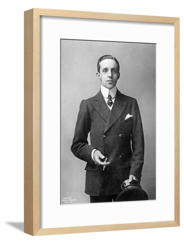 King Alfonso Xiii of Spain, C.1910--Framed Art Print