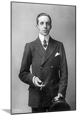 King Alfonso Xiii of Spain, C.1910--Mounted Giclee Print