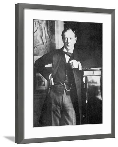 Winston Spencer Churchill in 1904-English Photographer-Framed Art Print