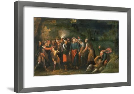 Christ in the Garden of Gethsemane-Hans Jordaens III-Framed Art Print