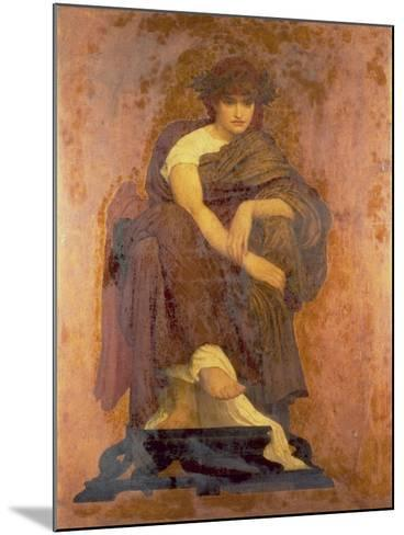 Mnemosyne, the Mother of the Muses-Frederick Leighton-Mounted Giclee Print