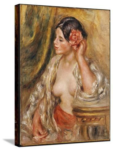 Gabrielle a Sa Coiffure, 1910-Pierre-Auguste Renoir-Stretched Canvas Print