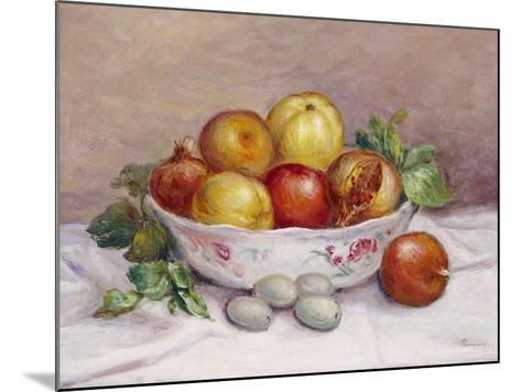 Still Life with a Pomegranate-Pierre-Auguste Renoir-Mounted Giclee Print