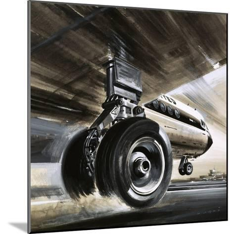 Aircraft Landing or Taking Off-Wilf Hardy-Mounted Giclee Print