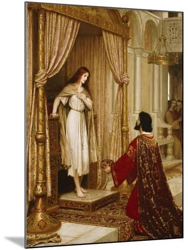 A King and a Beggar Maid, 1898-Edmund Blair Leighton-Mounted Giclee Print