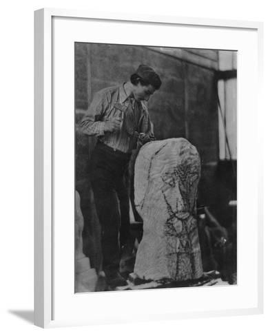 Henri Gaudier-Brzeska, C.1910-English Photographer-Framed Art Print