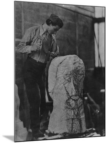 Henri Gaudier-Brzeska, C.1910-English Photographer-Mounted Giclee Print