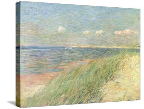 Les Dunes Du Zwin, Knokke, 1887-Th?o van Rysselberghe-Stretched Canvas Print