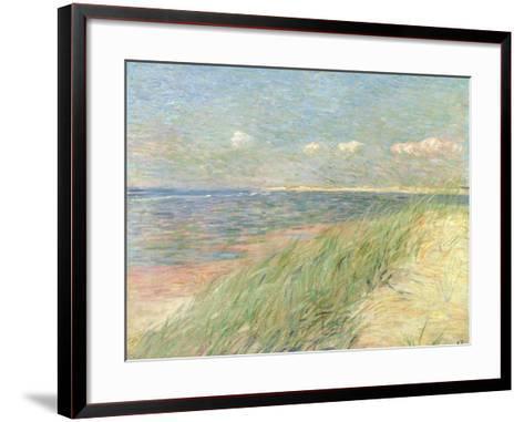 Les Dunes Du Zwin, Knokke, 1887-Th?o van Rysselberghe-Framed Art Print